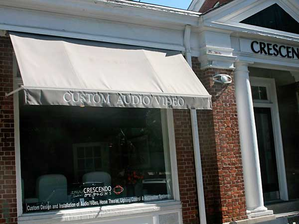 Business Awnings Long Island Crescendo
