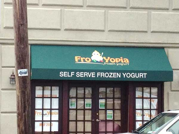 Commercial Window Awning Froyopia