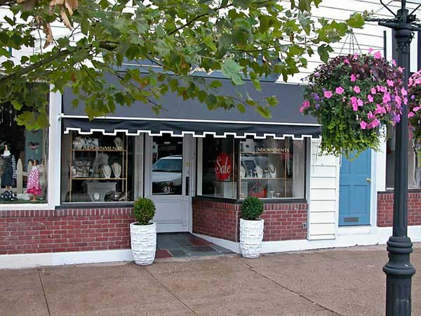 Shop Awning Long Island Adornments