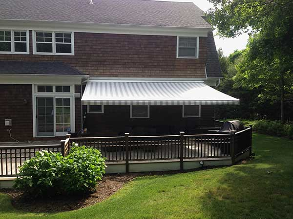 back deck Retractable Awning