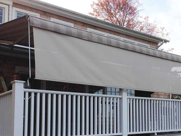 Beige Retractable Awnings