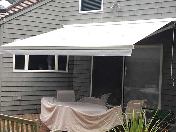 small Retractable Awning